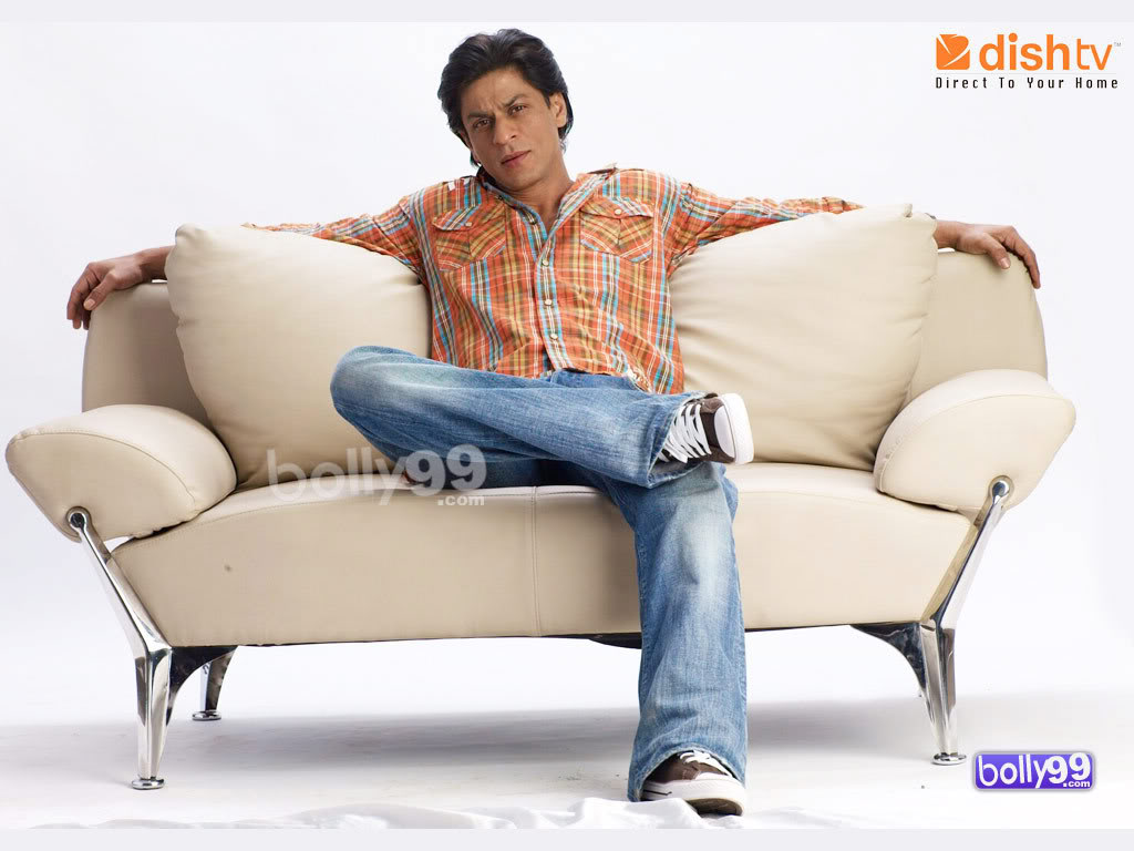 SRK in Dish T.V Ads - All Pics - Shah Rukh Khan Arabian Planet